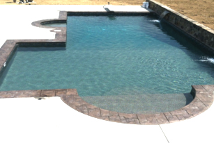 Charlotte pool carolina pool builder vinyl pool concrete for Innovative pool design kings mountain